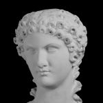 Portrait der Agrippina minor